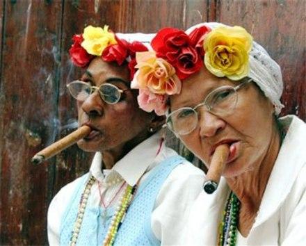 Cigar Smoking Women