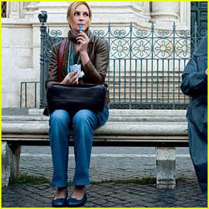 Julia Roberts in Eat, Pray, Love.