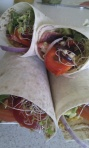 Veggie Mountain Bread Wraps