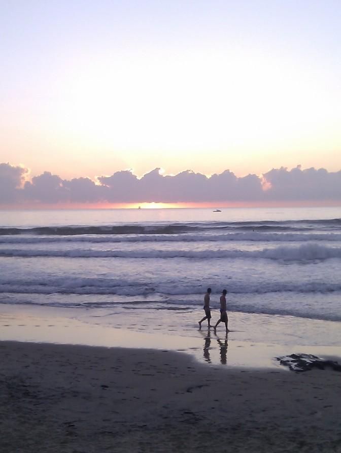 Skipped Yoga, Hit the Beach
